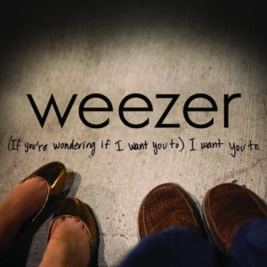 Weezer - If you're wondering... single packshot